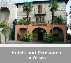 Hotels und Pensionen in Assisi