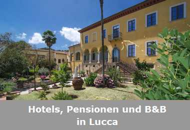 Hotels, Pensionen und B&B in Lucca