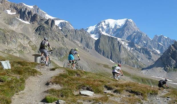 Moutain Biking im Aostatal